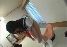 Nữ sinh Nhật huấn luyện chó liếm lồn